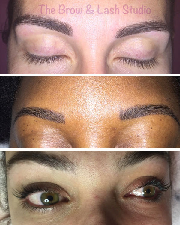 The Brow Lash Studio Collage